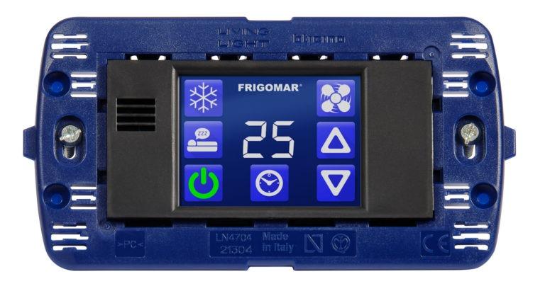 SCU termostato touchscreen