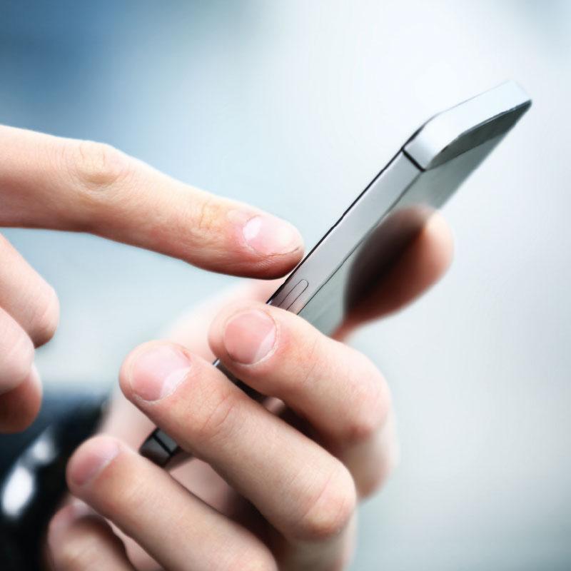 applicazione smartphone di controllo