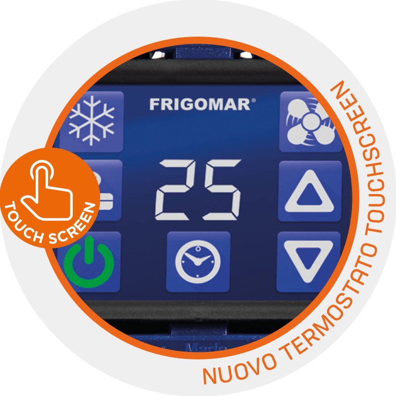 SCU termostato touch-screen