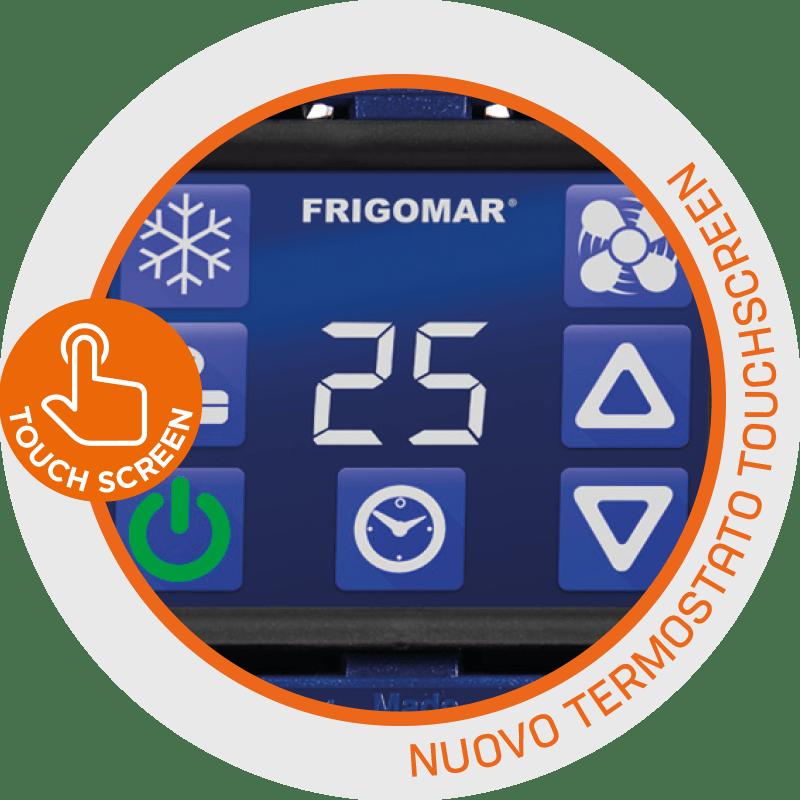 SCU termostato touch-screen
