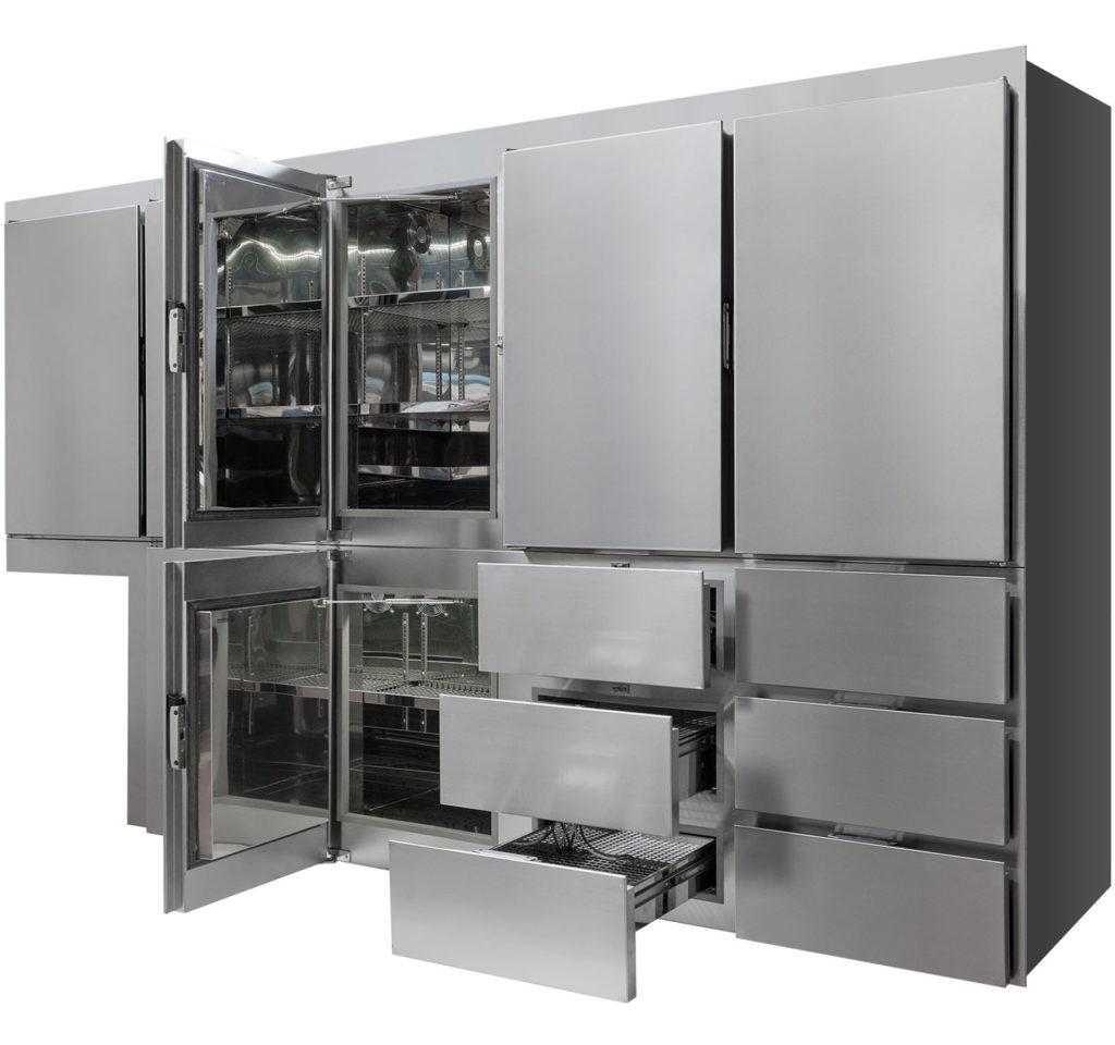 Frigomar Custom Made Fridge Freezer 60m semi-open