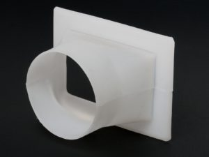 Art.658 PVC adapter - Ø140mm (240x175 mm)