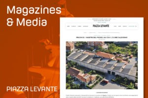 Frigomar article in Piazza Levante